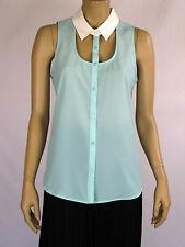 Sportsgirl Ladies Sleeveless Top sizes 6  Colour Mint
