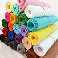 1M Felt Fabric Non Woven DIY Hand Craft Material Scrapbook Sew Kid Thick