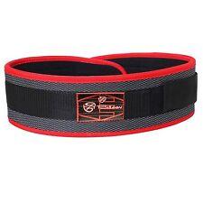 Weight Lifting Belts Gym Back Support Fitness Neoprene Body Building Nylon Belt