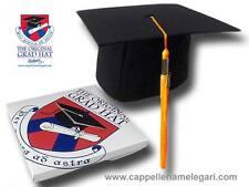 "cappello da laurea ""tocco"" tesi di laurea università Original Grad Hat arancio"