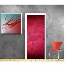 Carta dipinto porta design rosso 608