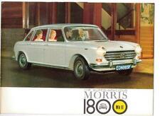 BMC MORRIS 1800 Mk II  SALES BROCHURE 1968