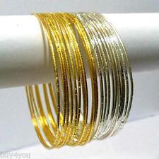 Armreifen Armband Bollywood Schmuck Indisch Choorian Gold Silber Sari Anarkali