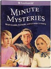 American Girl Minute Mysteries   Brand New