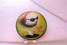 Roll The Rock Golf Ball Marker - W/Bonus Magnetic Hat Clip