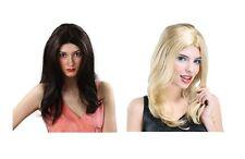 #LISA WIG BLACK OR BLONDE LONG FANCY DRESS
