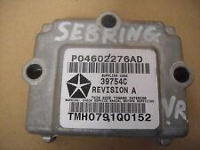 Chrysler Sebring (JR) Steuergerät vorne rechts 04602276AD ECU Control Module