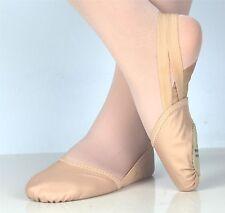 Ellis Bella Rhythmic Gymnastics toe shoes, half lyrical shoes nude colour