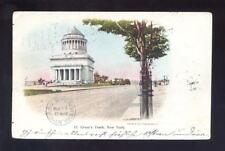 Usa New York Grants Tomb 1905 early u/b Ppc