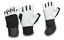 Gewichtheben Gepolsterter Handschuhe Training Fitness Langer Verschluß Neu