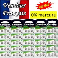Piles boutons AG10 LR1130 LR54 189 SR1130W GP89A 389 Exp rapide et gratuite