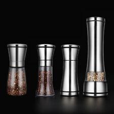 Stainless Steel Kitchen Tool Spice Herb Grinder Salt Mill Pepper Grinder