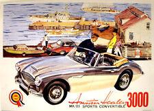 Austin Healey 3000 Mark Iii Convertible Vintage advertsing Impresión De Foto Afiche