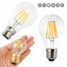 E27 LED Filament Light Glass Housing Bulb Lamps 220V 2W 4W Retro Candle Light RK