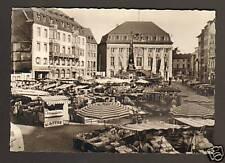 BONN (ALLEMAGNE) Marché devant HOTEL DE VILLE
