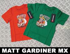 QUIKSILVER ENFANTS / T-shirt pour enfants Camino a puerto orange ou vert 2-7 ans