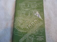 1986 Pontiac 1000 Owners Manual 86