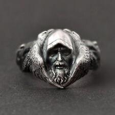Herren Vikinger Ring - Nordische Mythologie Odin - Biker Rocker Punk Gothic