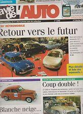 LA VIE DE L'AUTO  N°1162. 17/02/2005. ARCHIVES FONDATION BERLIET. RETROMOBILE