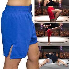 Kids Kick Boxing Martial Arts Shorts BJJ Training MMA Muay Thai Cage Fight UFC