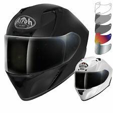 Airoh Valor Color Motorcycle Helmet & Visor Full Face Motorbike Pinlock Track