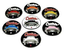 AMERICANA fibbia della cintura classico design American Car Cruisin 7 colori autentici