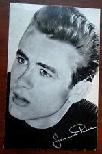 James Dean Picture Postcard  1950's  Original from Germany Auto Signature  Rare