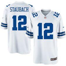 Dallas Cowboys - Roger Staubach  12 Nike Men s White Legends NFL Game Jersey  QB f71675ac7