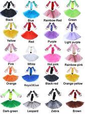 Kids Girls Ladies Tutu Skirt Ballet Dancewear LEG WARMERS / FISHNET GLOVES
