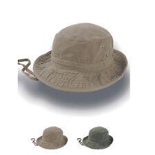 Atlantis Globe Trotter Hut Hat Western Stil Canvas Baumwolle Luftlöcher Neuware