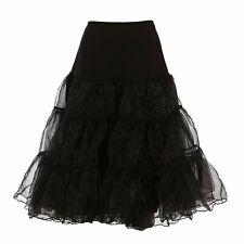"""50er Jahre Petticoat Unterrock Retro Vintage Swing 1950's Rockabilly 26"""""""