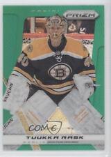 2013-14 Panini Prizm Green #4 Tuukka Rask Boston Bruins Hockey Card