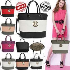 New Lady Designer Shoulder Handbags Womens Elegant Faux Leather Stylish Bags
