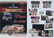 Rumänien 2017 Autos,Collection Cars,Ion Tiriac Mi.7263-66,Zf,KB,Block 707,FDC