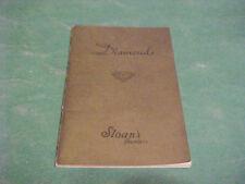 1951 DIAMONDS BOOKLET SLOANS JEWELERS AMERICAN GEM