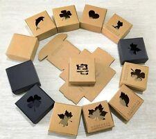 30 Pack Kraft Soap Paper Box Handmade Jewelry Gift Craft Art Package DIY