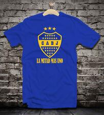 Boca Juniors Argentina retro badge t shirt camiseta