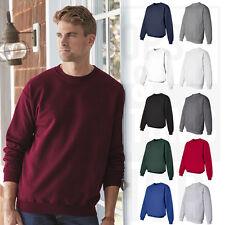 Hanes Mens Ultimate Cotton Crewneck Sweatshirt Fleece Crew S-3XL - F260
