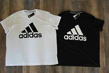 NWT ADIDAS Big & Tall Men's CLIMALITE Athletic Shirt  Black White