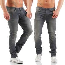 JACK & JONES - TIM LEON - Indigo - Slim Fit - Jogg Jeans Herren Hose - Neu