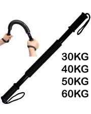 Flexible Power Twister KG Stretch Spring Bendy Bar Gym Exercise 30 40 50 60 kg