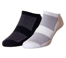 HJ Hall Women's Pack of 2 Bamboo Trainer Liner Socks