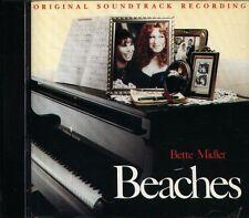 Bette Midler - Beaches Soundtrack - Japan OST CD - 10Tracks