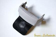 VESPA Spritzschutz mit Spritzlappen - Grau - PX / Lusso / T5 Classic - Schwarz