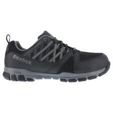 item 5 Reebok Mens Black Leather Work Shoes Athletic Oxford Steel Toe  Sublite -Reebok Mens Black Leather Work Shoes Athletic Oxford Steel Toe  Sublite 4ad3e7a94