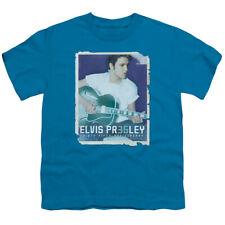 Elvis Presley The King Rock 35 Guitar Big Boys T-Shirt Tee
