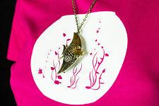 Kette + Shirt = Kett-Shirt Aquarium Fisch Halskette Schmuck Geschenk  Anhäng M9