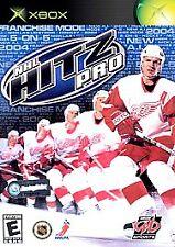 NHL Hitz Pro (Microsoft Xbox, 2003, Complete) (V3)