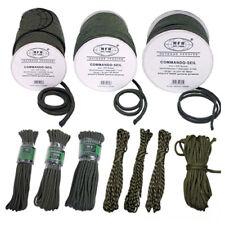 Commando Seil Schnur Tau Kordel Fangseil Leine Strick 5 7 9 mm 15m o. 60m Rope