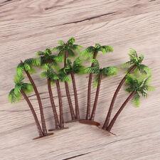 DIY Plastic Coconut Palm Tree Miniature Plant Bonsai Craft Micro Landscape Decor